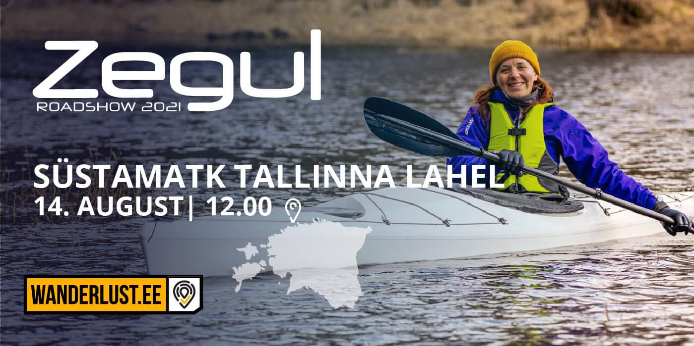 ZEGUL ROADSHOW | Süstamatk Tallinna lahel